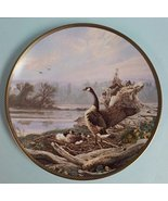 """""""At The Nest"""" - 125th Celebration of Canada - Commemorative Plate #3 - $34.99"""