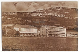 MACEDONIA - LAKE OHRID ORCE NICOLOV REST HOME / HOTEL-c1930s Yugoslavia ... - $7.31