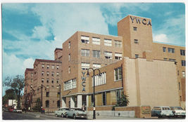 TOLEDO OHIO ~ YMCA and YWCA BUILDINGS c1960s postcard - $4.37