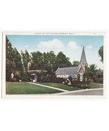 GLENDALE CA ~ CHURCH OF THE FLOWERS ~ SMALL CHURCH ~ c1920s postcard - $3.22
