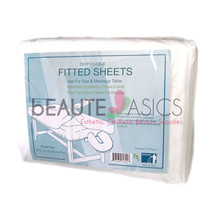 100 Pcs Disposable Fitted Bed Sheets Massage Ta... - $159.95