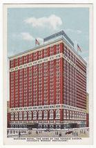 CHICAGO IL ~ MORRISON HOTEL BUILDING, TERRACE GARDEN RESTAURANT 1920 pos... - $4.55
