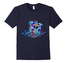 New Shirt - Fair Game Melting Funky Cube Tshirt Puzzle Tee Men - $19.95+