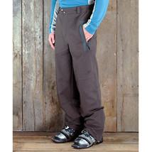 Cloudveil Symmetry Soft Shell Pants Mens Ski Hike Snowboard Waterproof Brown S image 3