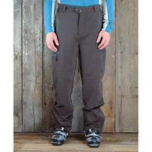 Cloudveil Symmetry Soft Shell Pants Mens Ski Hike Snowboard Waterproof Brown S image 2