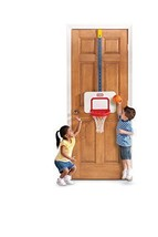 Over the Door Adjustable Height Kids Basketball Sports System w Breakawa... - $46.70
