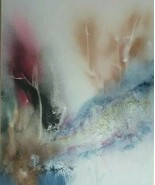 1986 Signed Gloria Allison Large Cuban Abstract Artist Original Painting... - $1,861.99