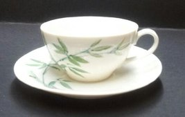 Handpainted Bamboo China- Cup and Saucer - $12.99