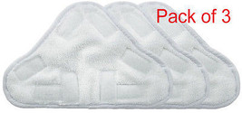 3X H2O Steam Mop X5 Pads H20 Compatible Replacement Pads Washable - $9.74