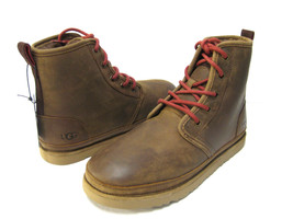 UGG HARKLEY WATERPROOF MENS BOOTS LEATHER GRIZZLY US 9 /UK 8 / EU 42 /JP 27 - £112.95 GBP