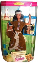 American Indian Barbie-1995-Collectors Edition-American Stories Collecti... - $23.99