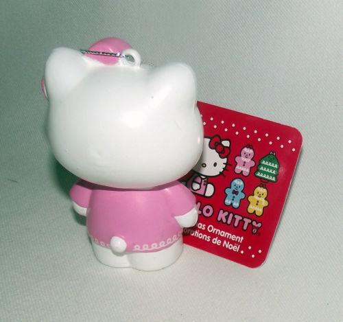 Hello Kitty Christmas Ornament Kurt Adler Pink White Sanrio Holiday Hanging New