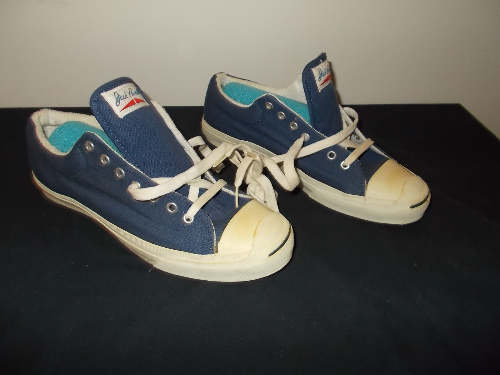 VTG-1970s NOS Converse Jack Purcell Sneaker Shoes Kicks Size 12 sku3