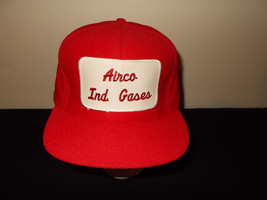 VTG-1980s Airco Industries Gases Welding patch MADE USA snapback hat sku16 - $37.18