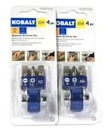 2 Count Kobalt 0337335 1/4 Inch Magnetic Bit Driver 4 Piece Set - $19.99
