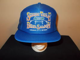VTG-1980s Suicide Table Delta Saloon Virgina City Nevada Old West hat sku21 - $27.83