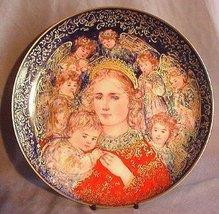 1985 Edna Hibel Christmas Plate the Angels Message - $22.67