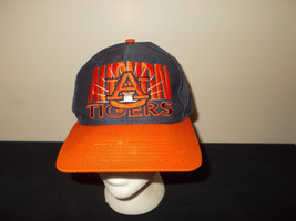 VTG-1990s Auburn Tigers Signature Brand green under brim snapback hat sku28 - $27.83