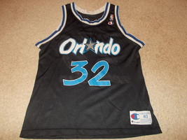 VTG-1990s Orlando Magic Shaquille O'neal Champion Basketball Jersey 40 - $149.24