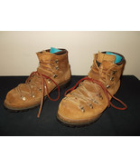 VTG-Dexter MADE USA Hiking Leather Mountaineering Boots Mens 13M sku9 - $177.29