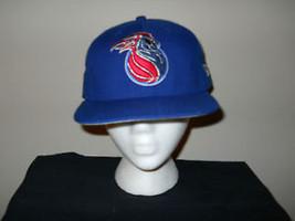 Vintage Detroit Pistons Snapback Hat/Cap Script - $93.32