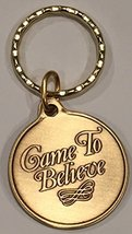 Came To Believe AA Keychain Medallion Sobriety Chip Key Tag - $6.99
