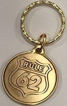 Rule 62 AA Keychain Medallion Sobriety Chip Key Tag - $6.99