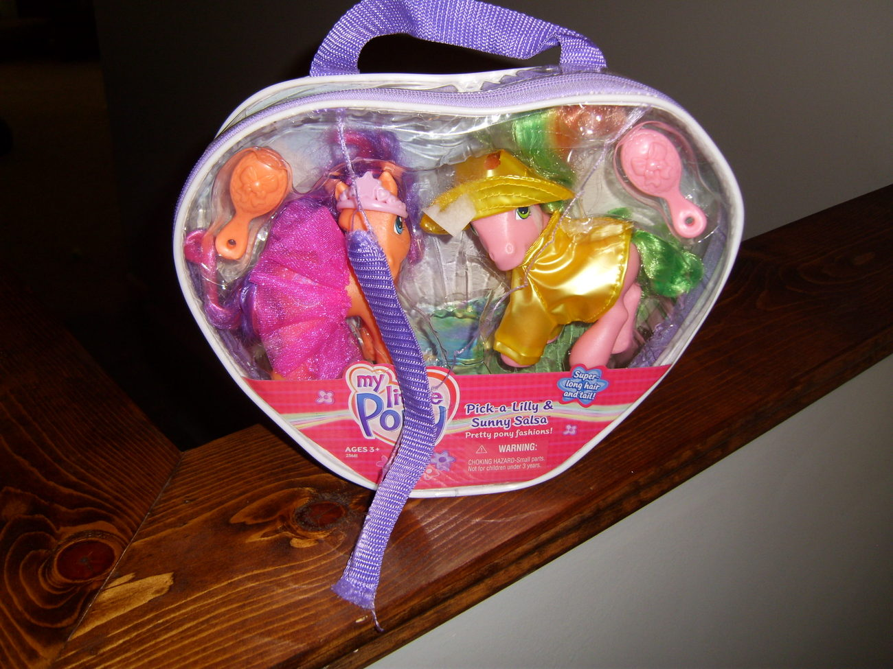 My Little Pony MIB Pick A Lilly and Sunny Salsa SLH