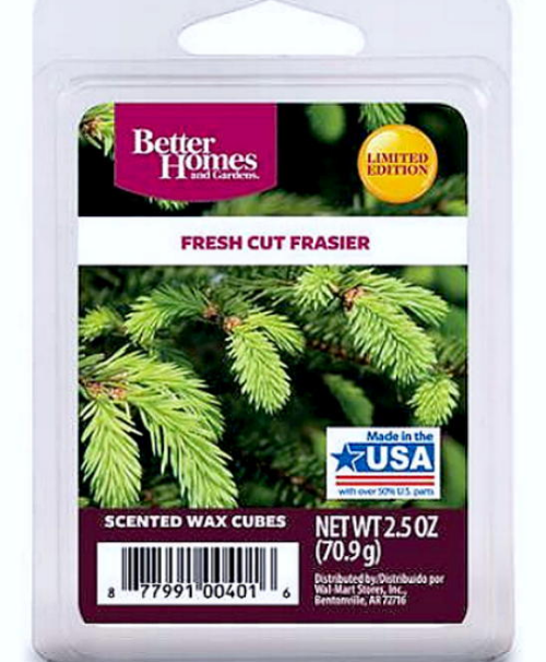 Fresh cut frasier better homes and gardens scented wax cubes tarts melts candles for Better homes and gardens wax melts