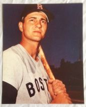 Carl Yastrzemski Bat Red Sox Vintage 8X10 Color Baseball Memorabilia Photo - $3.99