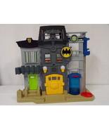 ORIGINAL Vintage 2013 Mattel Imaginext Batman Gotham PD Playset - $23.01
