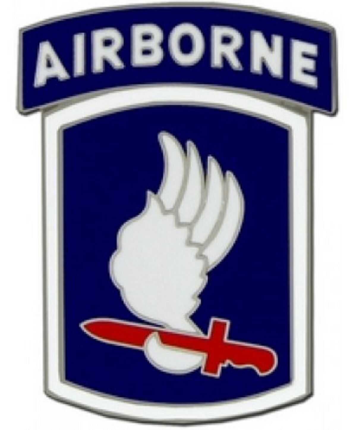 Primary image for US Army 173rd Airborne Division Combat Service Badge (2 inch)