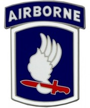 US Army 173rd Airborne Division Combat Service Badge (2 inch) - $14.84