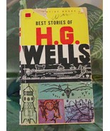 1960 BEST STORIES OF H.G. WELLS Vintage Science Fiction-Ballantine Paper... - $9.99