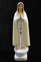 "20"" Our Lady of Fatima Virgin Mary Catholic Religious Statue Sculpture Figurine - $159.99"