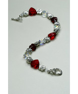 Swarovski Crystal Heart Bracelet for Sweet Valentine - $60.00
