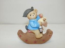 Cherished Teddies PAUL on Rocking Horse Figurine #676888, 2000 - $11.24