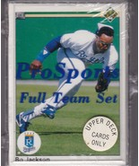 1990  KANSAS CITY ROYALS Upper Deck Sealed Team Set BO JACKSON GEORGE BRETT - $5.36