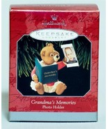 Hallmark Grandma's Memories, Photo Holder, Bear,,new in Box,,1998 - $4.99