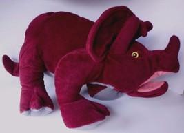 "Folkmanis Folktails Triceratops 18"" Hand Puppet - Retired Dinosaur - $29.35"