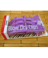 SWISSCO PROFESSIONAL SET OF 4 BLOW DRY HAIR CLIPS HOLDERS NEW IN BOX HEA... - $9.99