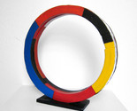 Tony Rosenthal 1985 Painted Steel Unique Ring Table Top Sculpture JKLFA.com - $9,405.00