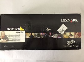 Genuine Lexmark C7720YK Yellow Toner Cartridge for C772/X772 Series - $64.35