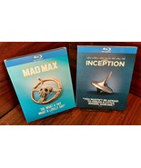 Mad Max:Fury Road + Inception (Blu-ray)Warner Iconic Moments Collector S... - $28.80