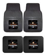 Houston Astros 2017 World Series Car Mats 2Pc or 4Pc Set Front and Rear ... - $37.90+