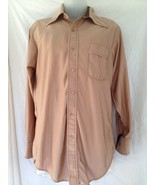 Vintage 70's Leisure Shirt Men Size M - $9.89