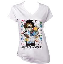 Artist Beagle Dog   New Cotton  T  Shirt  S M L Xl Xxl - $23.16
