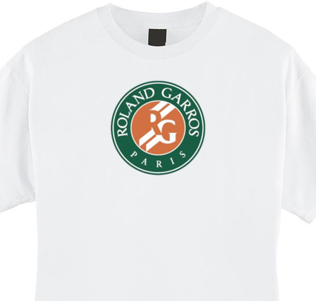 FRENCH OPEN Roland Garros Tennis T-shirt for sale  USA