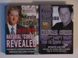 Kevin Trudeau Natural Cures (Natural Cures 2 Book Set:, Natural Cures Re... - $22.99