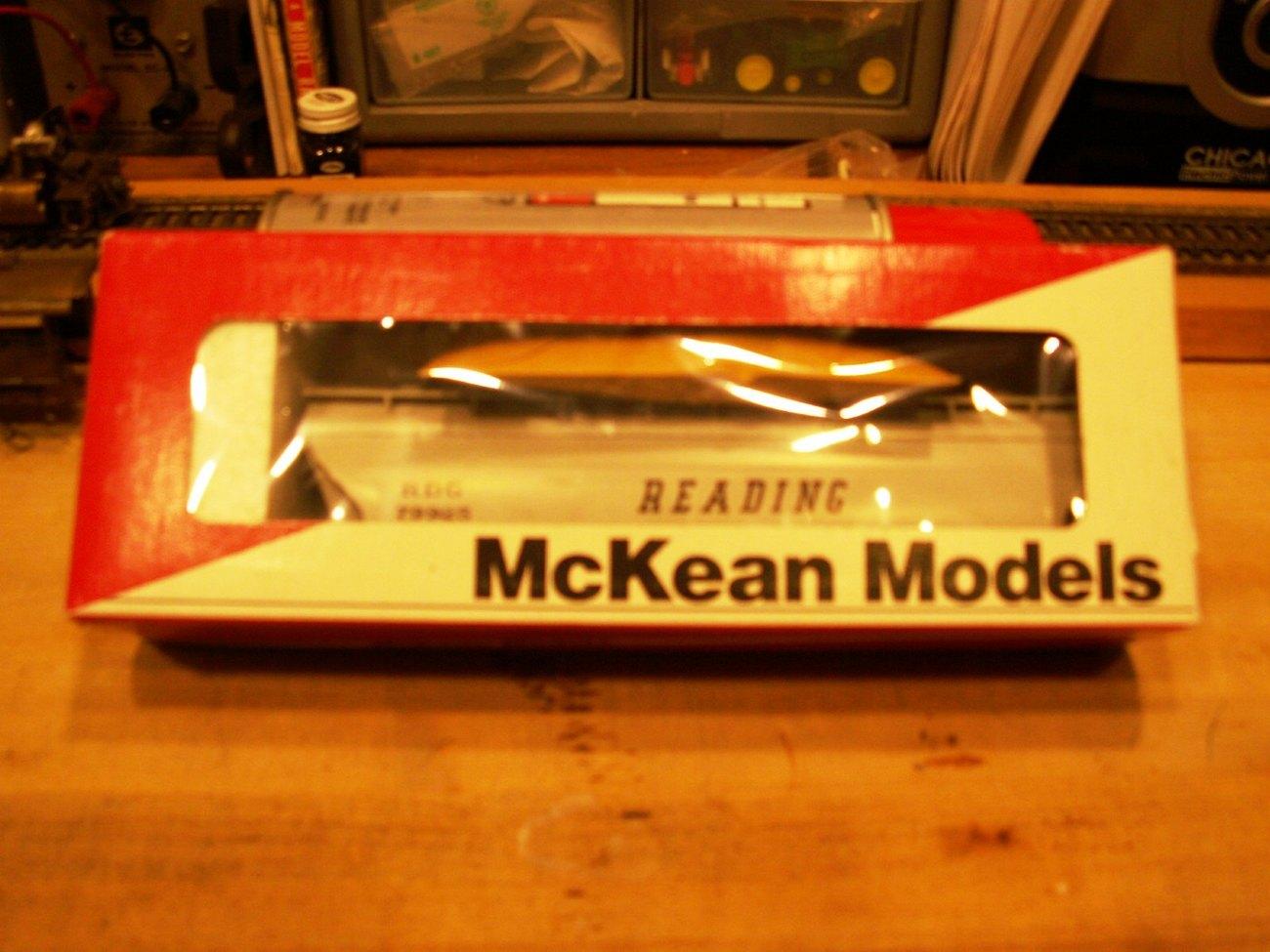 "McKean Models ACF Covered Hopper ""Reading"" Kit - New in Box"